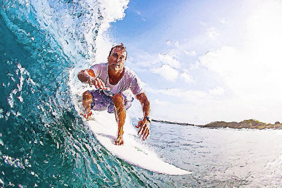 серфинг
